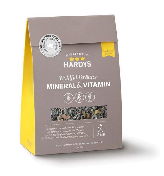 Hardys Traum Wohlfühlkräuter Mineral & Vitamin 150g