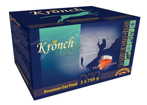 Henne Pet Food Kronch Adult Katze 2,25 kg