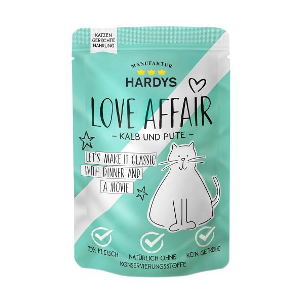 Hardys Traum Love Affair Kalb & Pute 100g Pouch