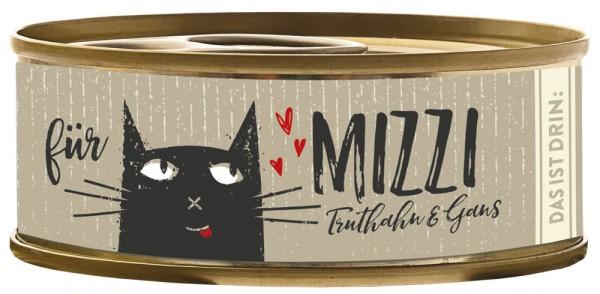 Bubeck Mizzi Truthahn & Gans 100g Katzenfutter