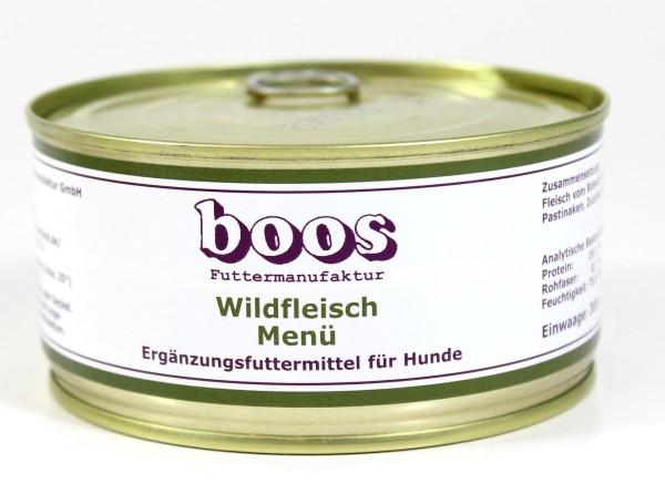 Boos Wildfleisch Menü