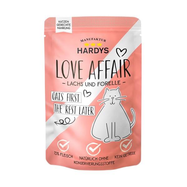 Hardys Traum Love Affair Forelle & Lachs 100g Pouch
