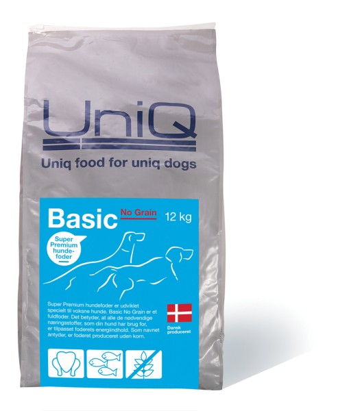 UniQ Basic No Grain 12kg
