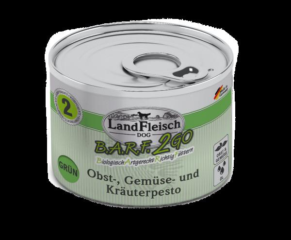 Landfleisch B.A.R.F.2Go Pesto Grün 200g