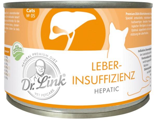 Dr. Link Leberinsuffiziens Hepatic 200g für Katzen