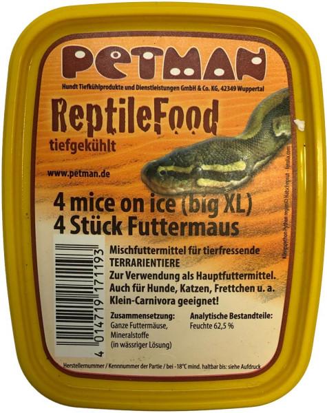 Petman MICE on ice - Big XL Futtermaus 4 Stk.