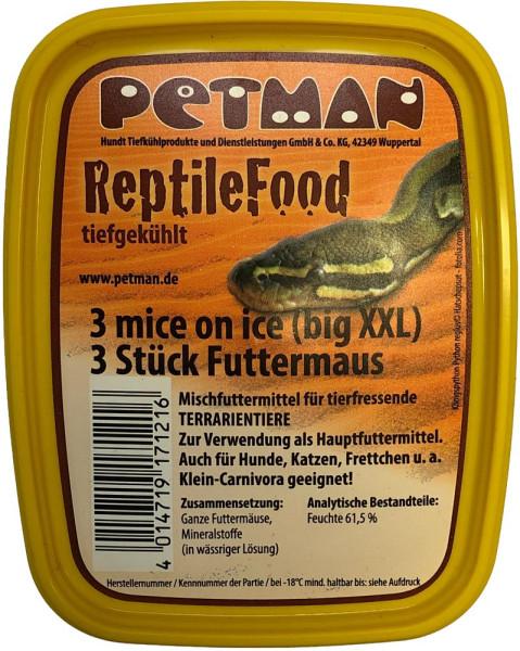Petman MICE on ice - Big XXL Futtermaus 3 Stk.