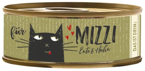 Bubeck Mizzi Ente & Huhn 100g Katzenfutter