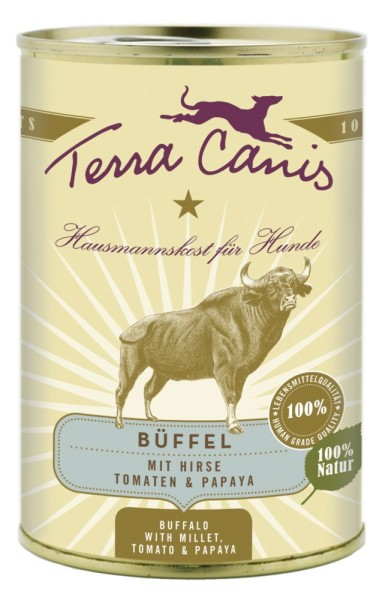 Terra Canis Classic Menü Büffel