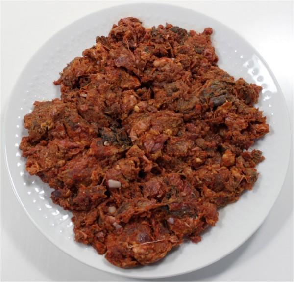 Barfmenü Hund, Rindfleisch 2x 500g