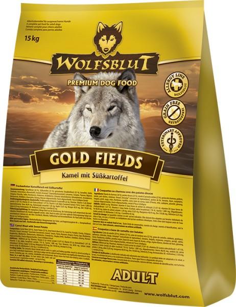 Wolfsblut Gold Fields mit Kamel und Süßkartoffel 15kg
