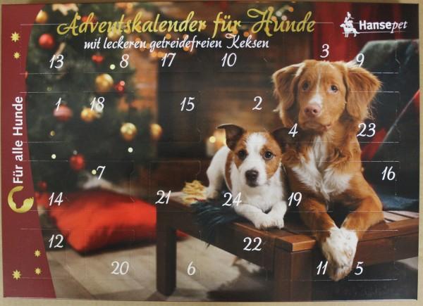 Adventskalender für Hunde zu Weihnachten