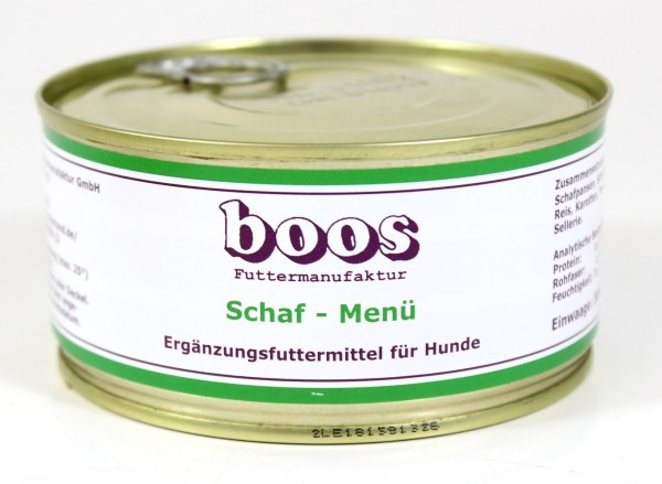 Boos Schaf-Menü