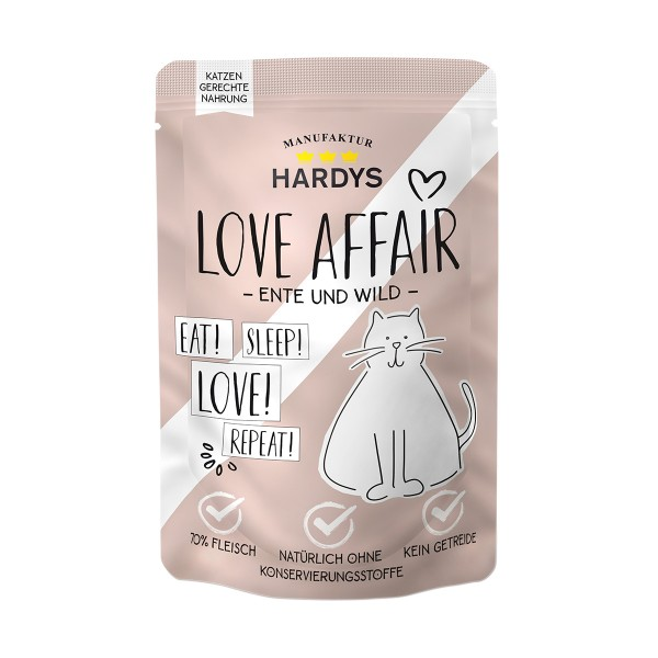 Hardys Traum Love Affair Ente & Wild 100g Pouch