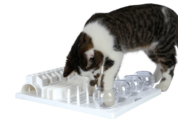 Trixie Cat Activity Fun Board Strategiespiel