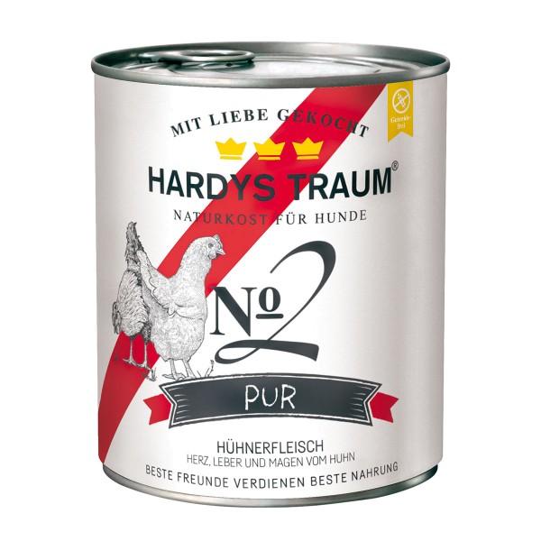 Hardys Traum Pur No. 2 mit Huhn