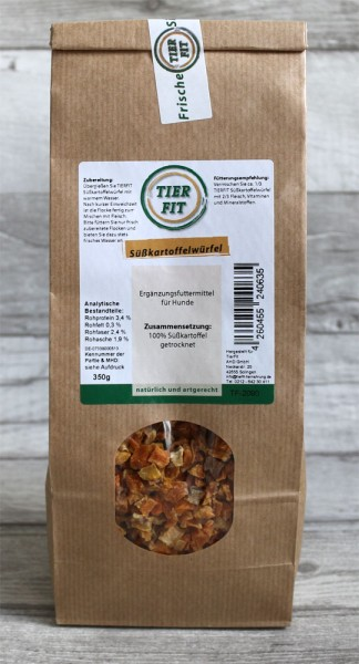 TierFit Süßkartoffelwürfel