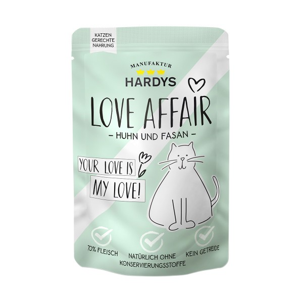 Hardys Traum Love Affair Huhn & Fasan 100g Pouch