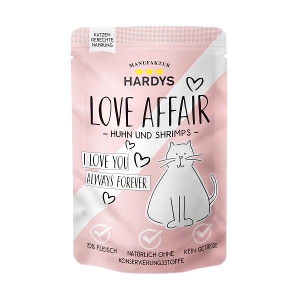 Hardys Traum Love Affair Huhn & Shrimps 100g Pouch
