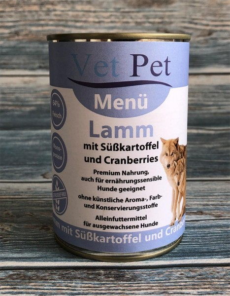 Vet Pet Lamm & Süßkartoffel