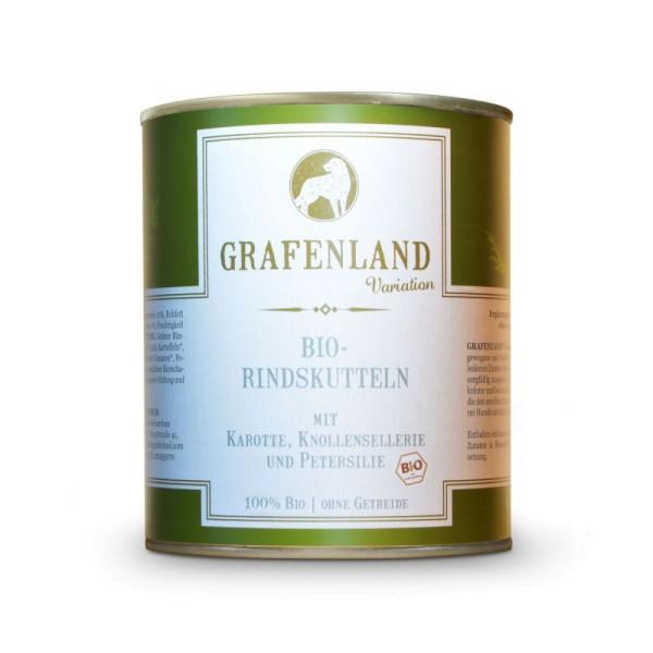 Grafenland Variation Bio-Rinderpansen mit Karotte, Knollensellerie und Petersilie
