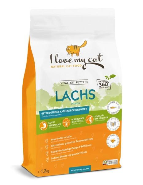 I love my cat mit Lachs 1,2kg
