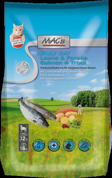 Macs Katzenfutter Lachs & Forelle Adult 300g