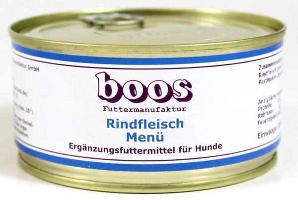 Boos Rindfleisch Menü
