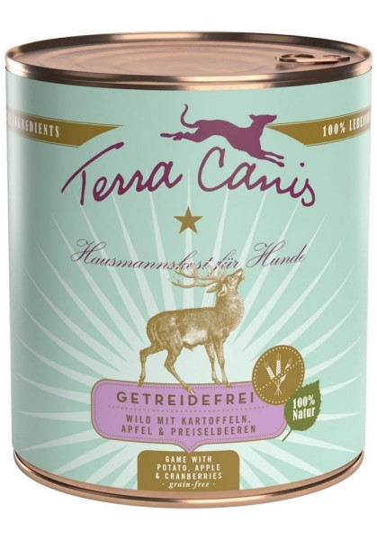 Terra Canis getreidefrei Menü Wild