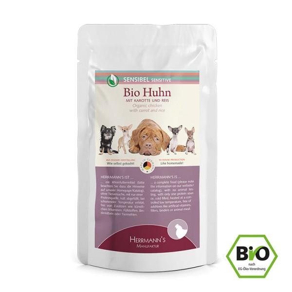 Herrmanns Bio Huhn mit Karotte und Reis