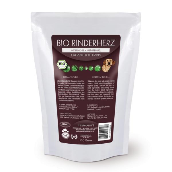 Herrmanns Bio-Rinderherz mit Fenchel 130g