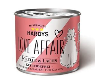 Hardys Traum Love Affair Forelle & Lachs 200g