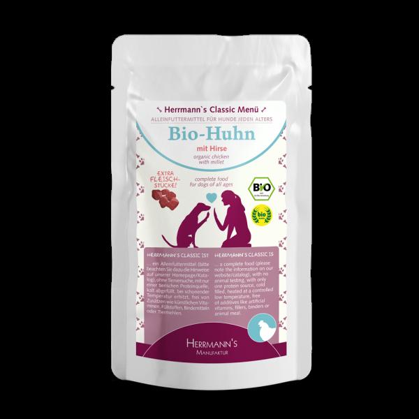 Herrmanns Bio-Huhn mit Hirse 130g