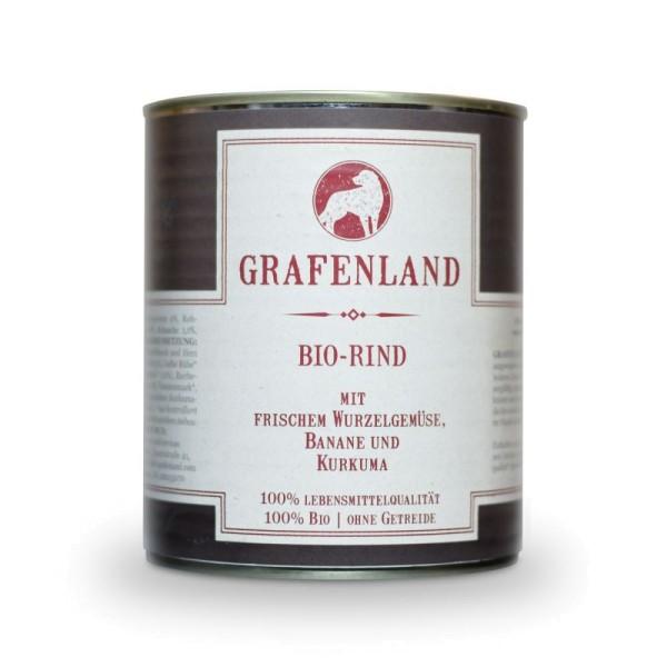 Grafenland Bio-Rind mit Gelber Rübe, Dinkelreis und Kurkuma