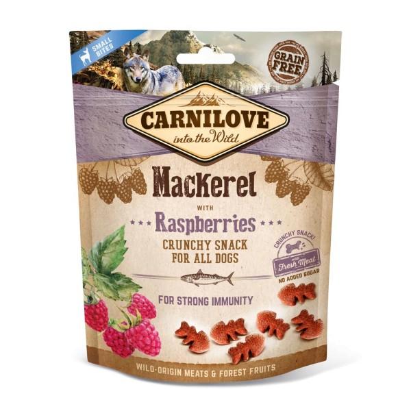 Carnilove Crunchy Snack Makrele mit Himbeeren 200g