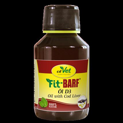 cdVet Fit-BARF Öl D3 100ml