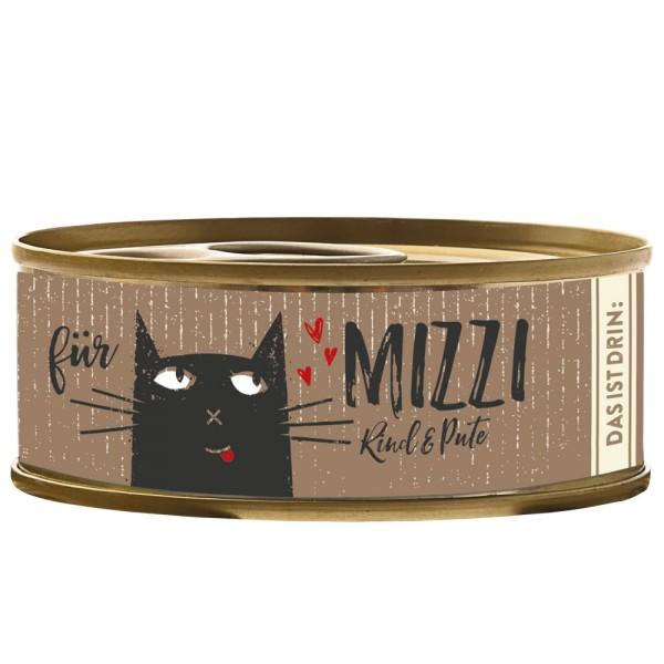 Bubeck Mizzi Rind & Pute 100g Katzenfutter