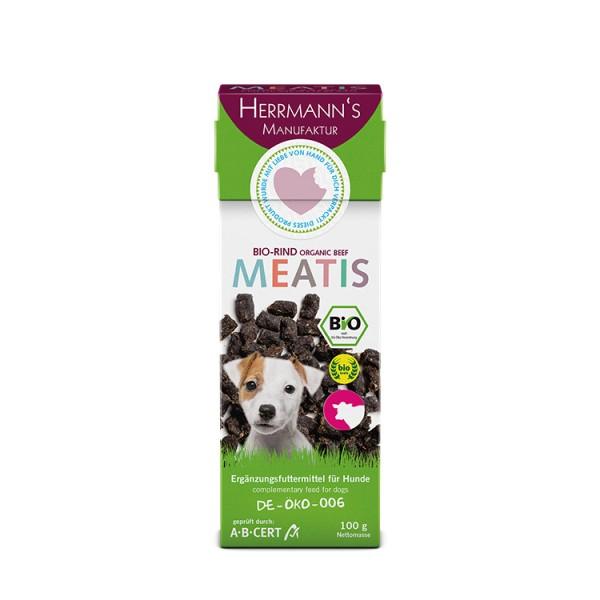 Herrmanns Meatis Bio-Rind für den Hund 100g