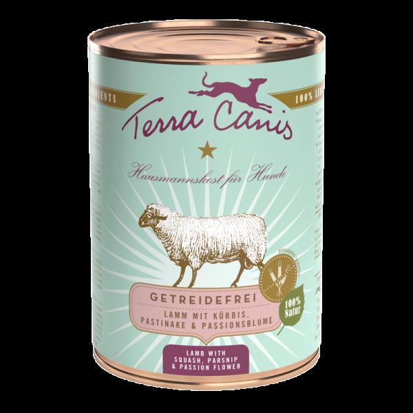 Terra Canis Menü getreidefrei Lamm mit Kürbis, Pastinake & Passionsblume