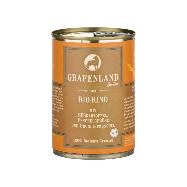 Grafenland Bio Rind Senior Menü mit Süßkartoffel
