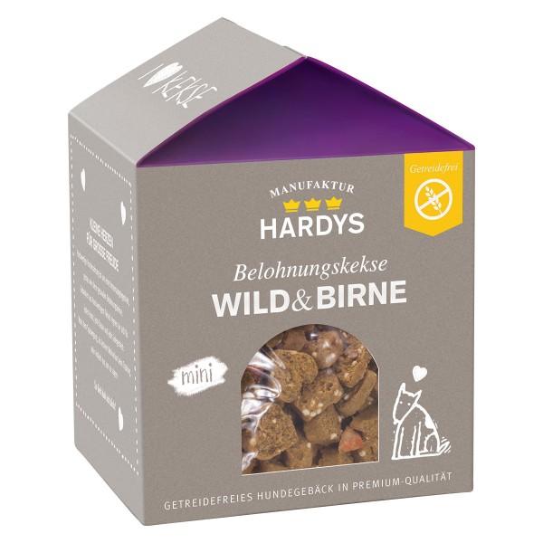 Hardys Traum Belohnungskekse Wild & Birne mini 125g
