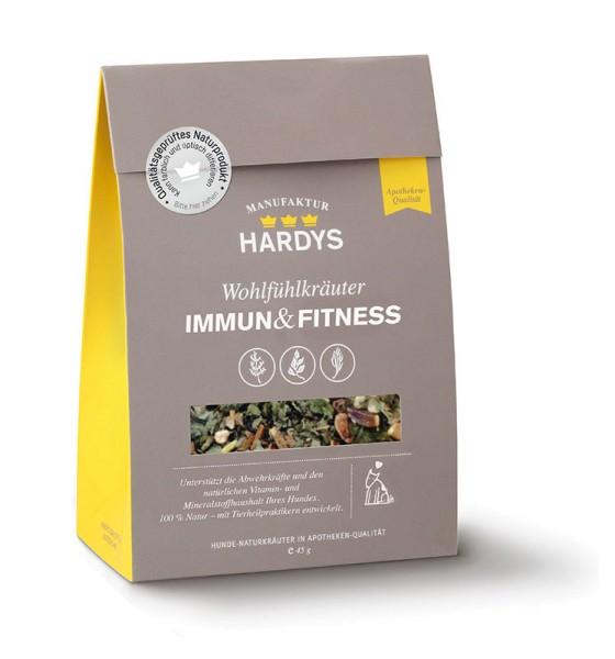 Hardys Traum Wohlfühlkräuter Immun & Fitness 45g