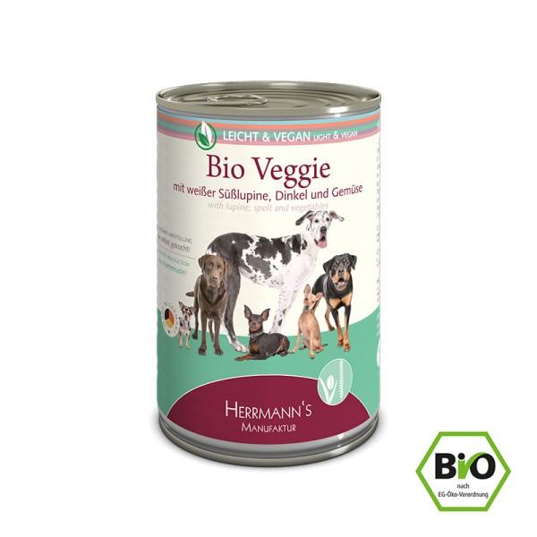 Herrmanns Bio Veggie mit weißer Süßlupine, Dinkel und Gemüse 400g